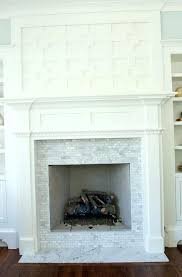 stacked stone tile fireplace surround veneer pictures installing