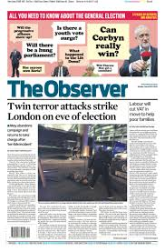 borough market attack how the papers reported the london bridge and borough market