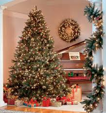 artificial prelit christmas trees the best pre lit artificial christmas trees a cozy home