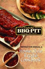 crock pot bbq ribs instruction manual and home small