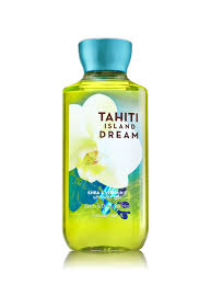 tahiti island dream shower gel signature collection bath