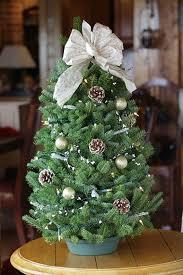 decorations miniature tabletop tree