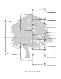 family tree template family tree template vertical
