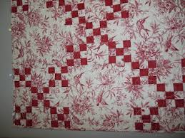 Ideas For Toile Quilt Design 26 Best Quilts Toile Fabrics Images On Pinterest Patchwork