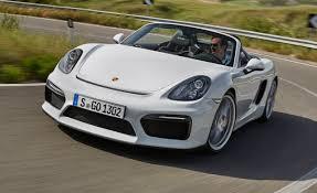 porsche spyder james dean 2016 porsche boxster spyder first drive u2013 review u2013 car and driver