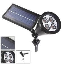 solar spot light reviews elinkume new arrival led solar light outdoor solar power spotlight