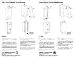 amazon com child proof light switch guard for decora rocker