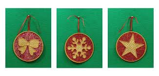 in the hoop machine embroidery applique ornaments