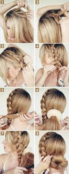 step by step hairstyles for long hair with bangs and curls 15 cute hairstyles step by step hairstyles for long hair