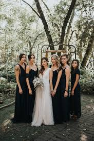 black and bridesmaid dresses how to style black bridesmaid dresses the style guide fmag