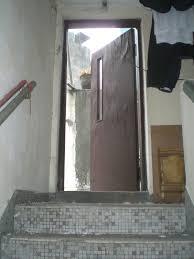 file hk sheung wan old house stairs n roof wooden door jpg