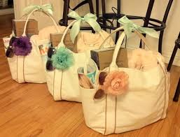 bridal party gift bags overloaded bridesmaid gift bags harmony creative studio