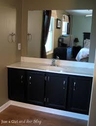 Framing Bathroom Mirrors Diy - diy framed mirror