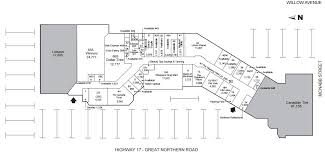 Michigan City Outlet Mall Map by Cambrian Mall Located In Sault Ste Marie Ontario Location