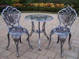 Vintage Cast Aluminum Patio Furniture - bistro sets