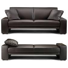 sofa decorative brown leather sofa bed matrix modern convertible