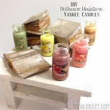Diy Dollhouse Furniture Diy Dollhouse Miniature Yankee Candles Mini Things Pinterest