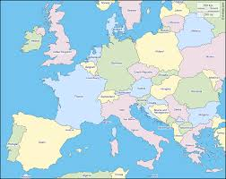 free outline map of western europe free outline map of western