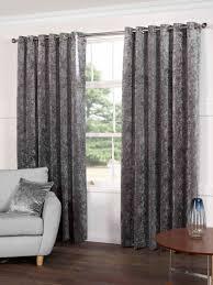crushed velvet eyelet curtains memsaheb net