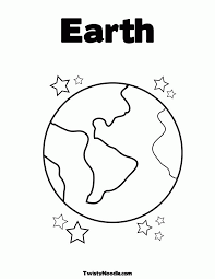 coloring pages planets coloring