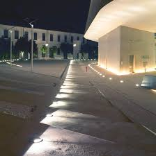 outdoor recessed lighting concrete patio and knockout outdoor