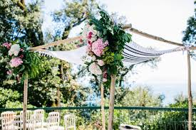 how to make a chuppah wedding in italy chuppah ideas getting married in italy