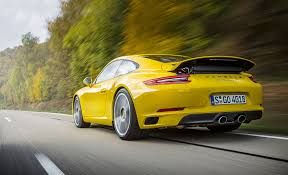 porsche yellow you can breathe now porsche 911 carrera s driven car december