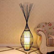 chinese altar creative living room coffee table floor lamp