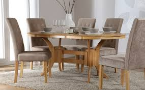 round table with 6 chairs amazing oval dining table and 6 chairs librarianslibrary for oval