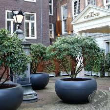 cedar planter boxescontemporary outdoor plant pots modern flower