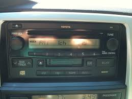 toyota 4runner radio 2 din in 2003 t4r limited questions toyota 4runner forum
