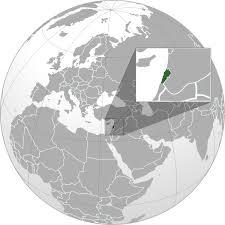 lebanon on the map lebanon