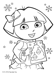 free coloring pages dora rio 5418 bestofcoloring