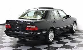 mercedes 2002 e320 2002 used mercedes e class certified e320 4matic awd sedan