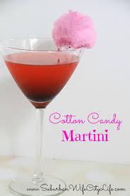 martini sweet cotton candy martini suburban wife city life