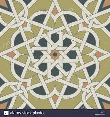 Morroco Style by Arabesque Seamless Pattern In Moroccan Style Tile Islamic Stock