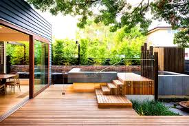 Backyard Design Ideas Australia Kitchen Endearing Exterior Modern Backyard Landscape Backyards