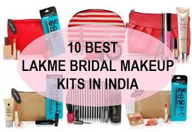 wedding makeup kits top best lakme bridal makeup kit