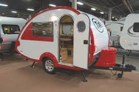 teardrop trailer for parties motor junkies camper with bathroom