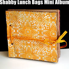 make a photo album how to make a recycled lunch bags mini album creativity prompt