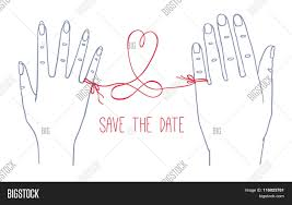 Date Invitation Card Save The Date Invitation Card Stock Vector U0026 Stock Photos Bigstock