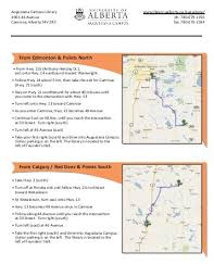 printable driving directions a printable map and detailed driving directions to all greystone