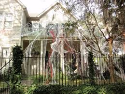 easy outdoor scary halloween decorations
