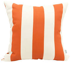 Orange Patio Cushions by Outdoor Vertical Stripe Large Pillow Contemporary Outdoor