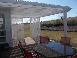 Pergola With Awning by Deck With Pergolas Deck Pergolas In Lancaster U0026 Chester County