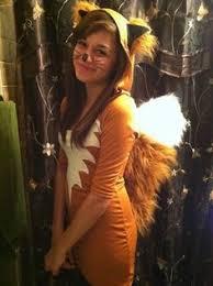 Kids Fox Halloween Costume Bits Diy Sew Fox Tails Halloween Fox Tails