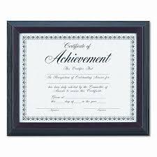 certificate frame dax manufacturing inc solid wood award certificate frame 8 5 x