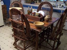 table u0026 chairs made by famous twig furniture maker in boone n c