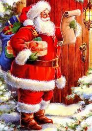 christmas santa claus antique christmas santa postcards and vintage illustrations santa