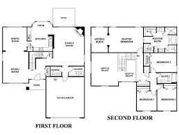 5 bedroom house plans 2 story 2 story 5 bedroom house plans adhome